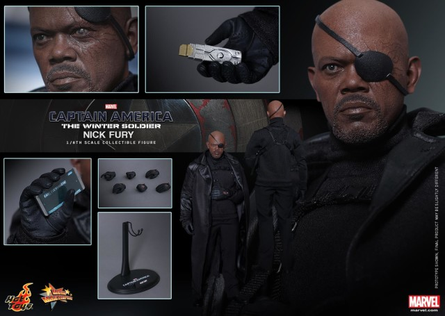 Hot Toys Nick Fury Figure and Accessories