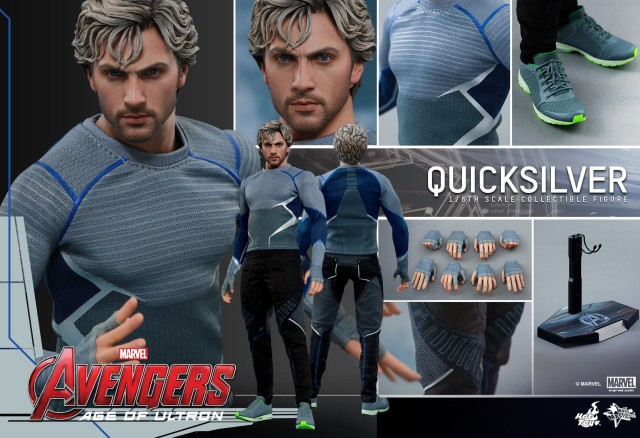 Hot Toys Quicksilver Figure and Accessories