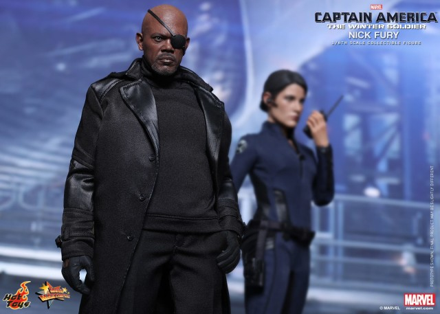 Hot Toys TWS Nick Fury MMS Figure with Maria Hill
