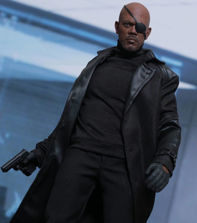 Hot Toys Winter Soldier Nick Fury Sixth Scale Figure