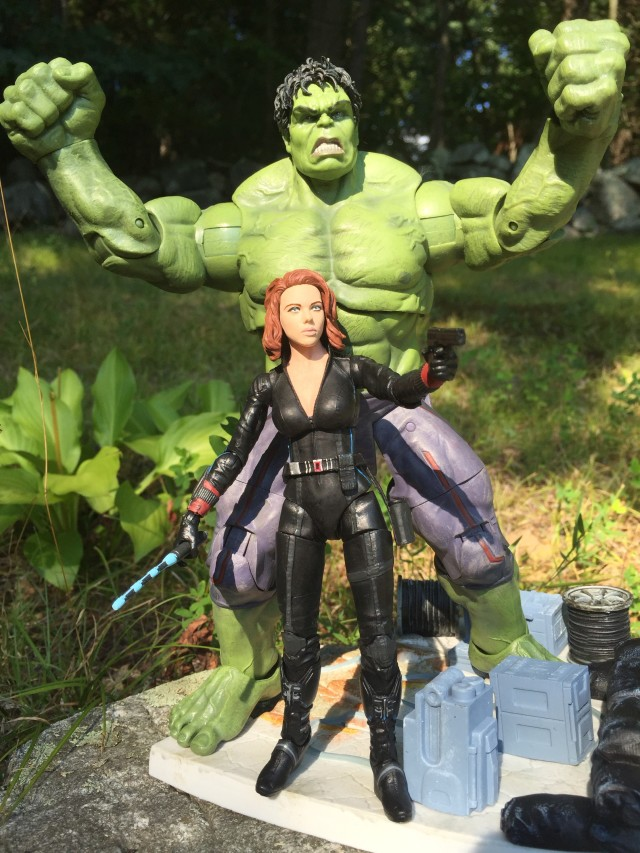 Avengers Age of Ultron Marvel Select Black Widow & Hulk Figures