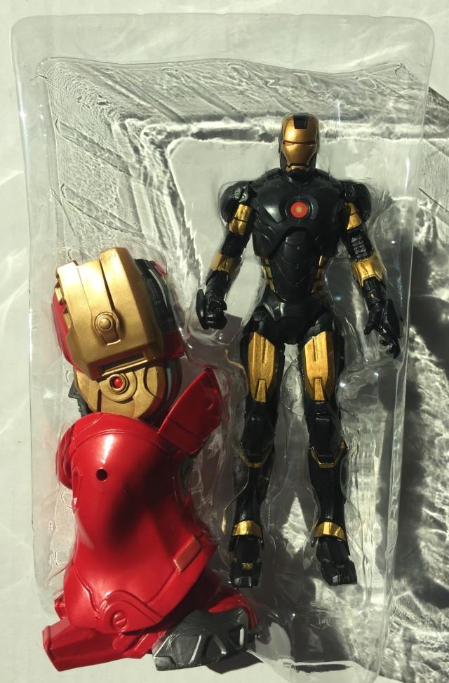 Marvel Legends Iron Man Marvel Now Figure and Hulkbuster Leg