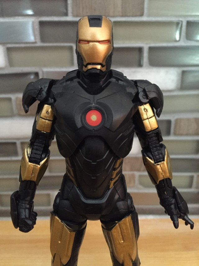 Marvel NOW! Iron Man Marvel Legends Figure Chest Reactor Sticker