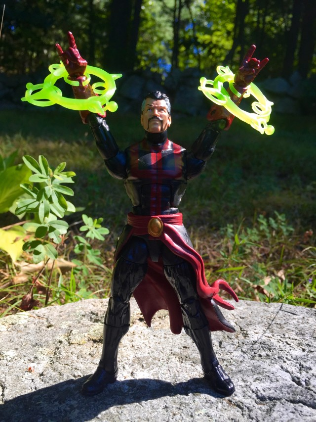 "Doctor Strange Marvel Legends 6"" Figure Calling Forth Magic Spells"