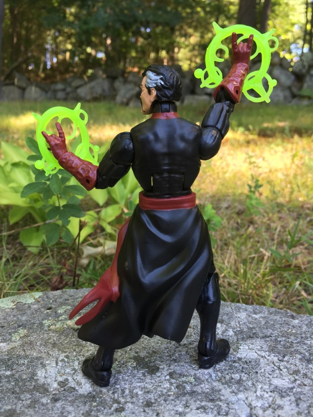 Dr. Strange Marvel Legends Infinite Series Figure Back