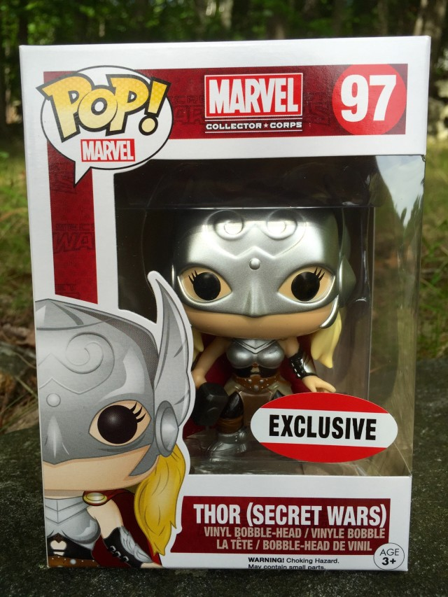 Funko POP Vinyls Thor Secret Wars Exclusive Figure
