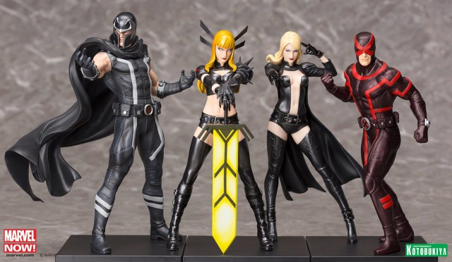 Kotobukiya 2016 ARTFX+ X-Men Statues Cyclops Magik Magneto Emma Frost