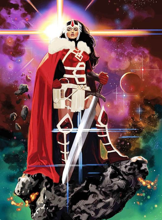 Marvel Lady Sif Journey into Mystery Cover