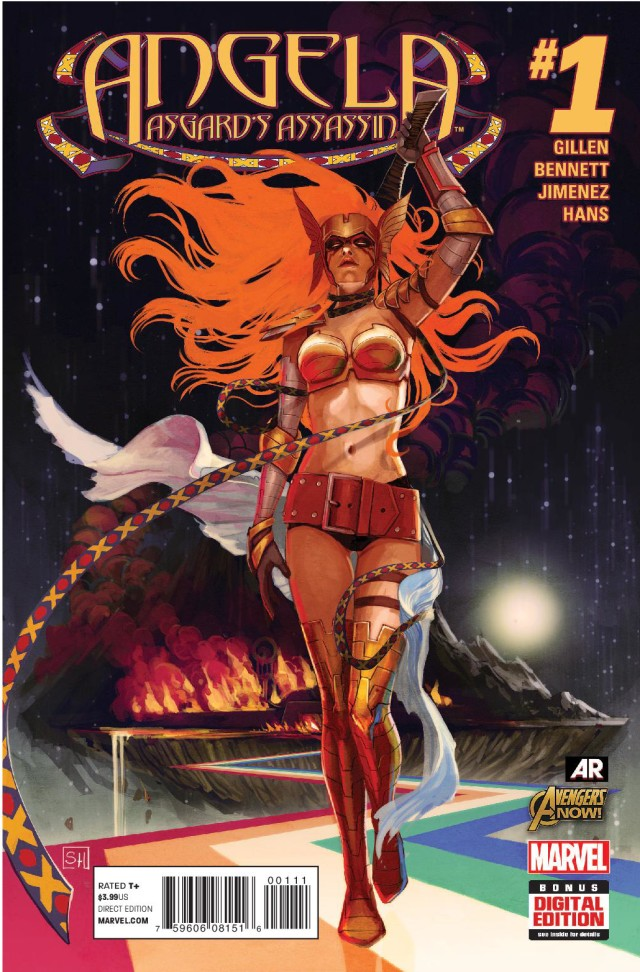 Marvel Legends Angela Asgard's Assassin 1 Cover