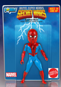Marvel Secret Wars Spider-Man Micro Bobbles Figure