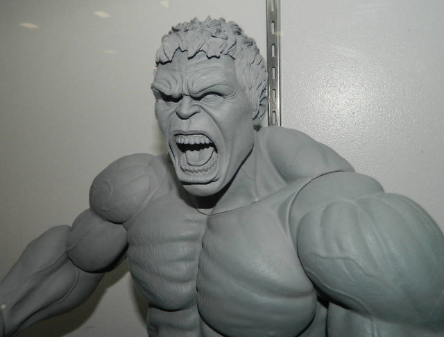 NECA 2015 Marvel Hulk Figure Head Sculpt