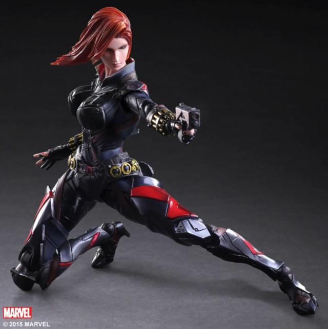 Play Arts Kai Black Widow Marvel Variant Figure