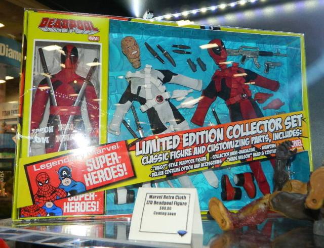 SDCC 2015 Deadpool Retro Figure Set