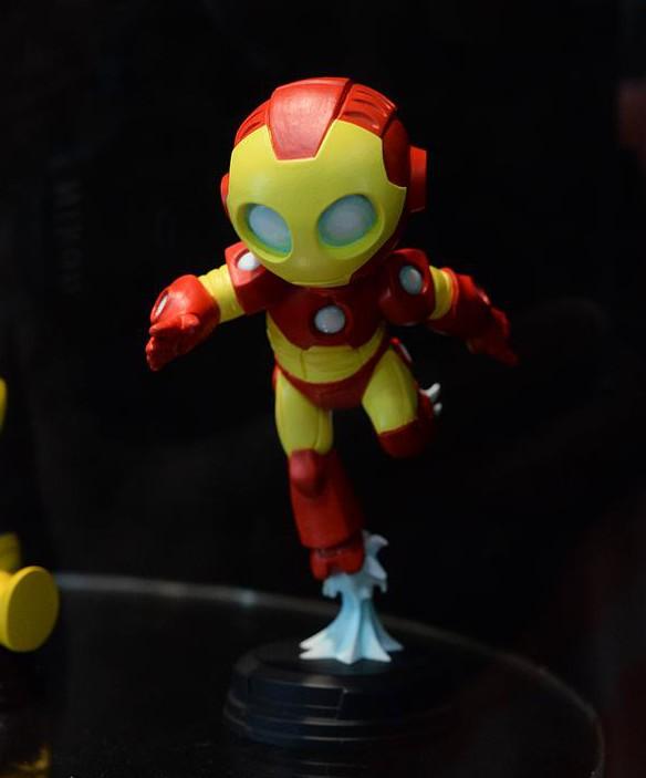 Skottie Young Iron Man Marvel Baby Mini-Statue SDCC 2015 Gentle Giant