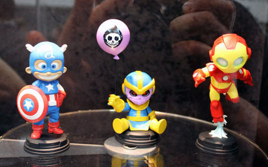 Skottie Young Marvel Babies Statues Thanos Iron Man Captain America