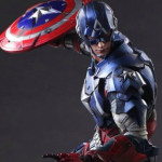 Play Arts Captain America & Black Widow Up for Order!