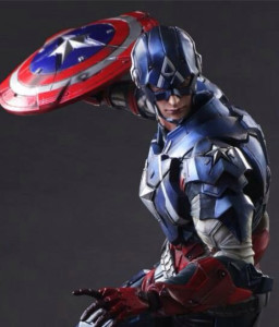 Square-Enix Play Arts Kai Captain America Figure