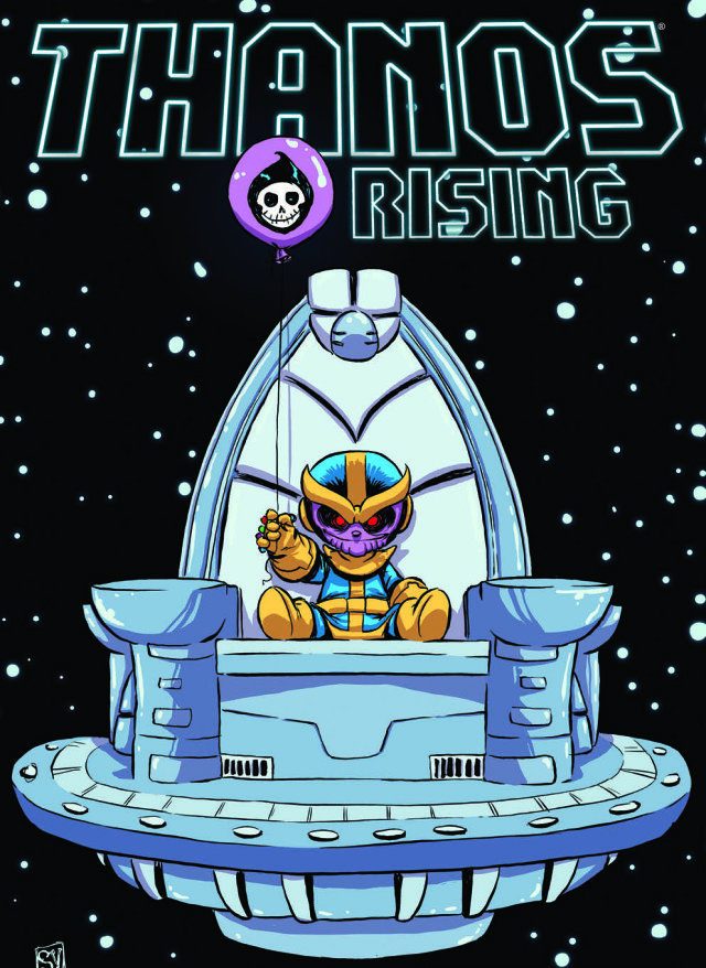 Thanos Rising #1 Cover Skottie Young Variant