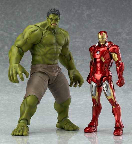 Avengers Figma Hulk Size Scale Comparison 8 Inch
