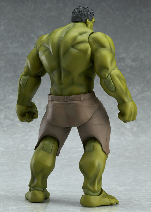 Back of Avengers Hulk Figma Action Figure