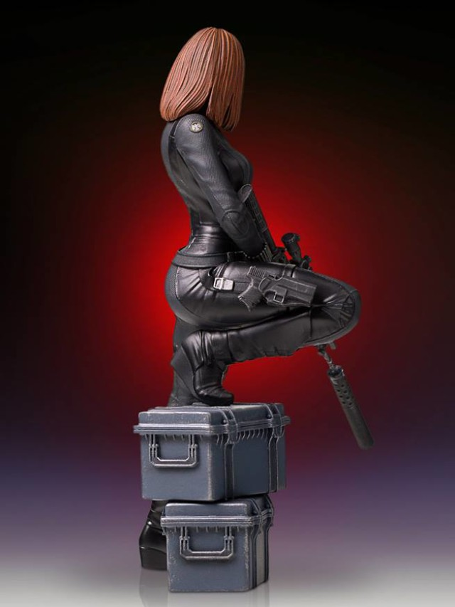 Black Widow 9 Inch Statue Gentle Giant Ltd