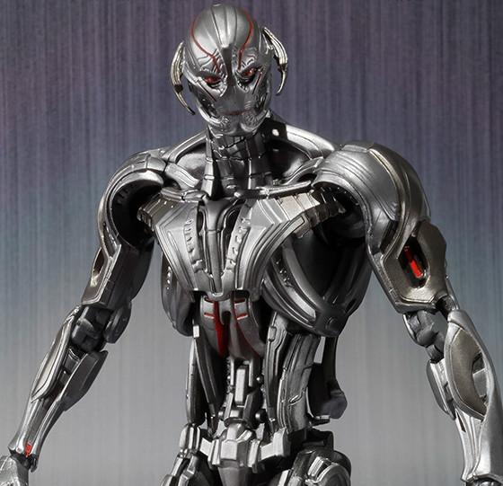 Close-Up of Bandai Tamashii Ultron SH Figuarts Figure