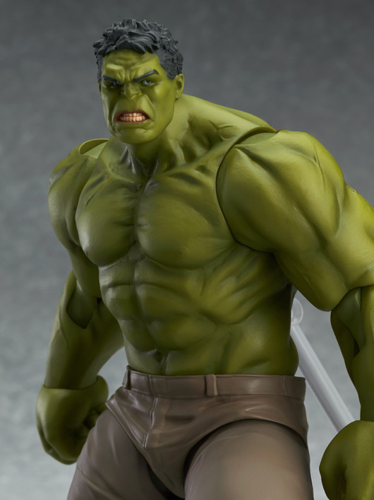Close-Up of Figma Avengers Hulk Figure