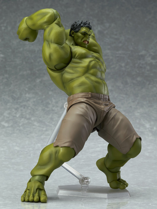 Figma Hulk Figure Pounding the Ground