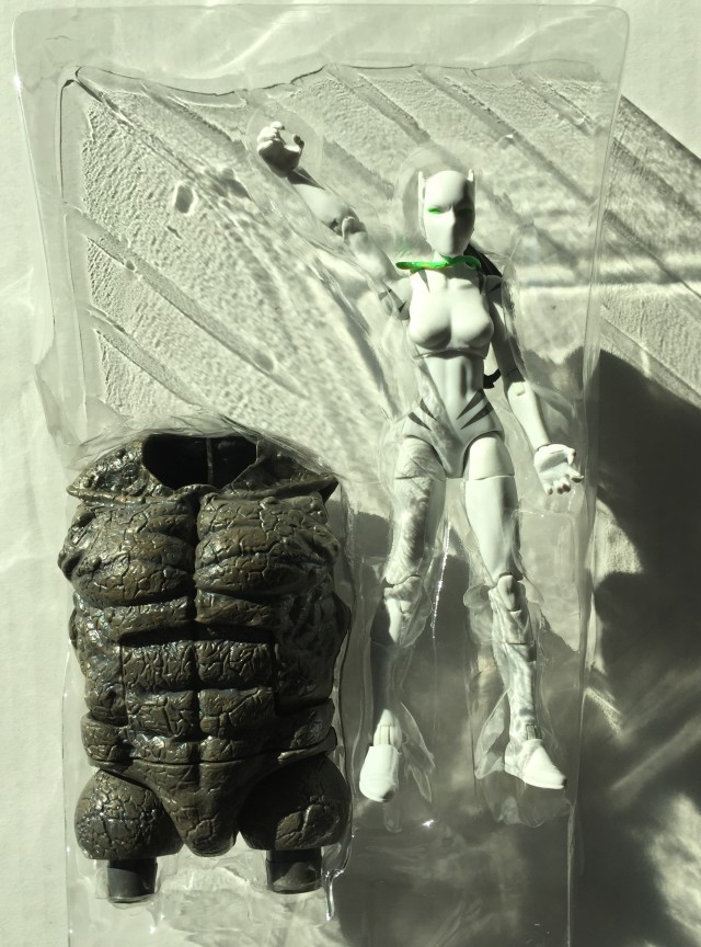 Spider-Man Legends White Tiger with Rhino BAF Torso