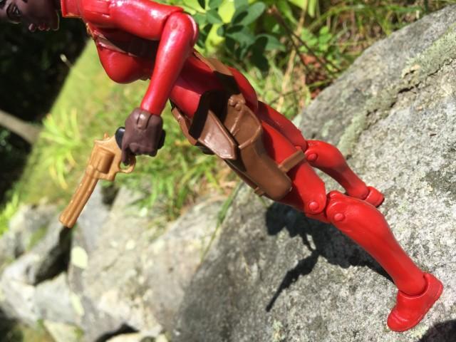 Misty Knight Holster Removable Gold Gun Hasbro Marvel Legends