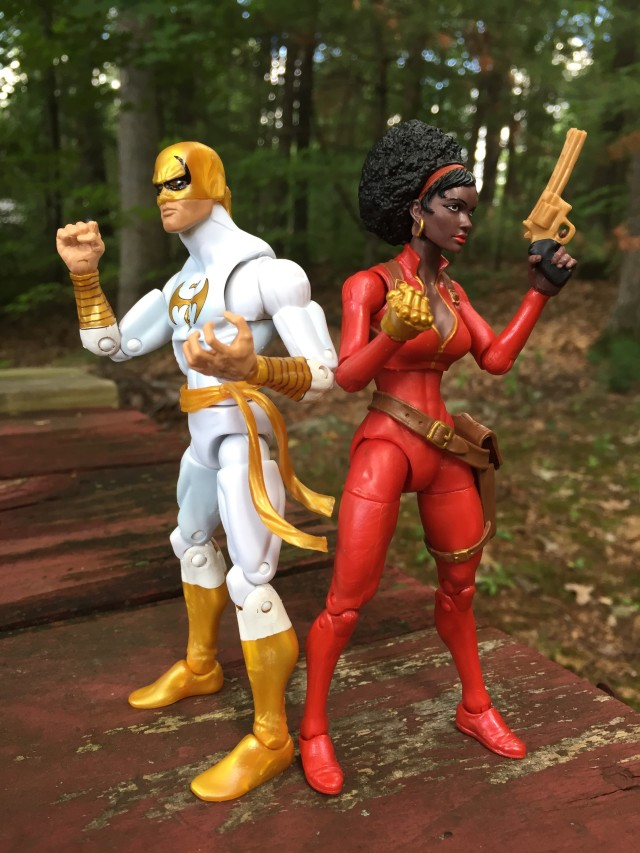 Marvel Legends Iron Fist and Misty Knight Figures 2015