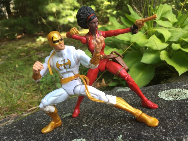 Marvel Legends Misty Knight & Iron Fist Figures