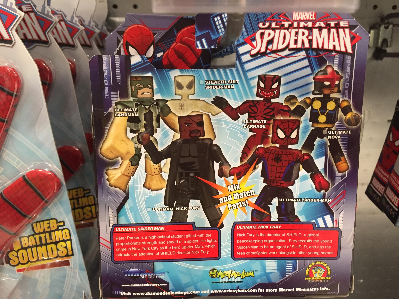 Exclusive Ultimate Spider-Man Minimates Released! Nova ...