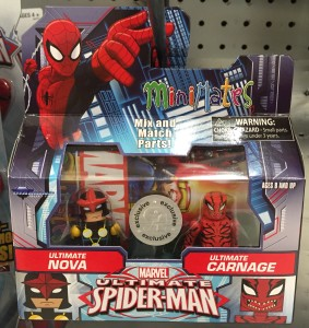 Minimates Ultimate Carnage & Ultimate Nova Two-Pack Exclusive