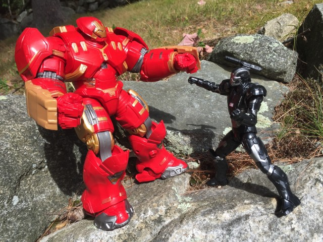 Marvel Legends War Machine vs. Hulkbuster Hasbro Figures