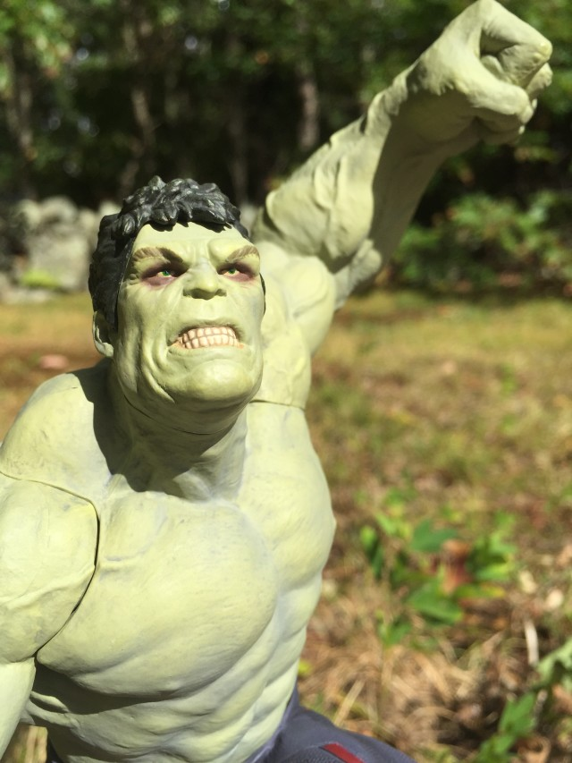 Rampaging Hulk EE Exclusive Statue Head Sculpt