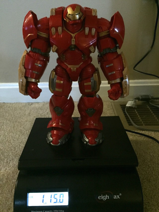Marvel Legends Hulkbuster Iron Man Weight 2 Pounds