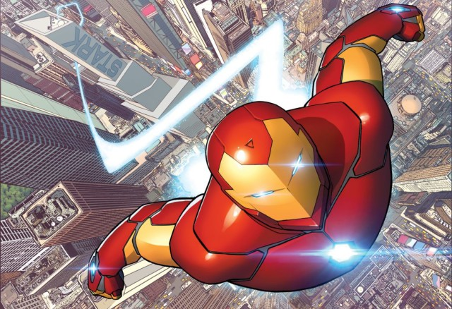 Invincible Iron Man #1 Cover