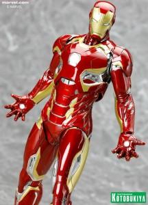 Kotobukiya 2016 Iron Man Mark XLV Statue ARTFX