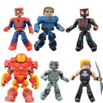 Walgreens Animated Marvel Minimates Series 1.5! COULSON!