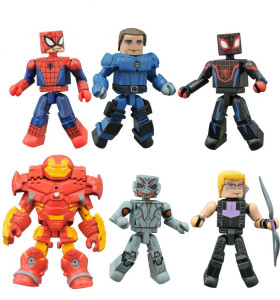 Marvel Animated Minimates Series 2 Figures
