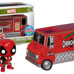 NYCC 2015 Funko Deadpool RED Chimichanga Truck?!