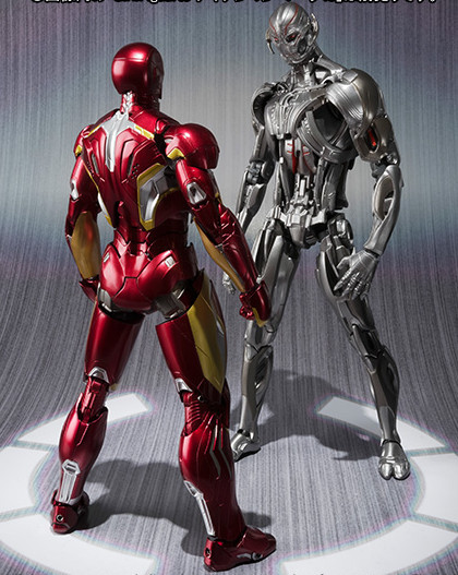 S.H. Figuarts Ultron Stand-Off with Iron Man Mark XLV