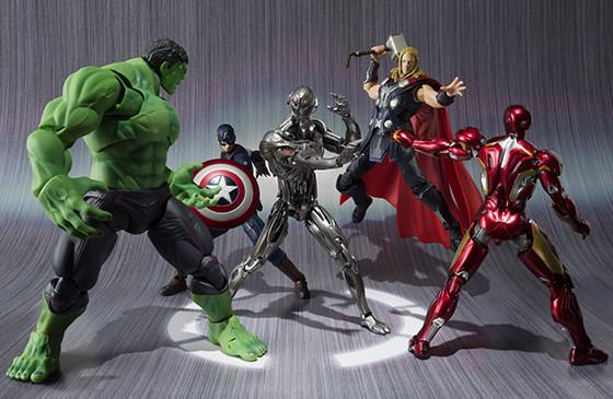 SH Figuarts Ultron vs. The Avengers