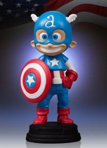 Skottie Young Captain America Statue Gentle Giant Ltd.