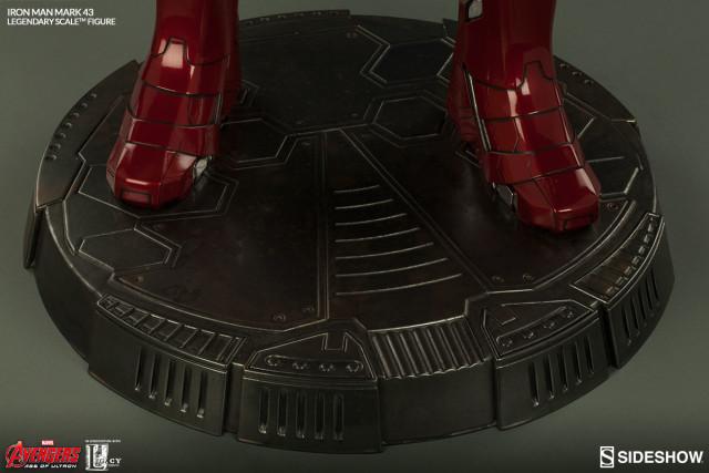 Avengers Tower Base for Legendary Scale Mark 43 Iron Man