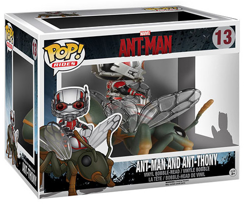 Funko Ant-Man and Ant-Thony Flying Ant POP Rides Set Packaged