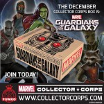 Marvel Collector Corps Guardians of the Galaxy Box!