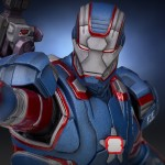 Gentle Giant Iron Patriot 9″ Statue Photos & Up for Order!