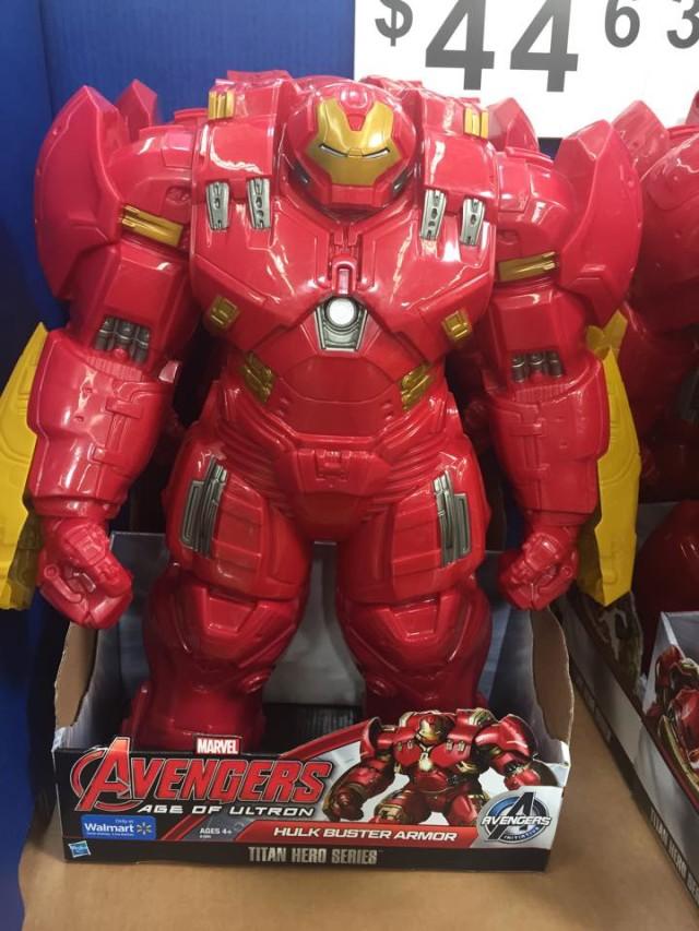 Hulkbuster Titan Hero Walmart Exclusive Figure 18 Inches Tall